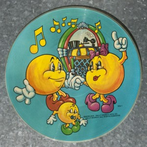 Pac-Man picture disc Side 1
